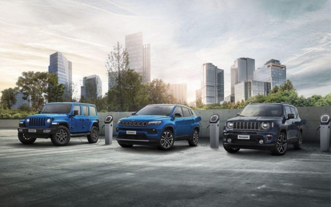 La marque Jeep® fête ses 80 ans avec un présent et un futur électrifiés